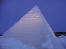 THIS LUXURY HOTEL IS MADE COMPLETELY OUT OF ICE, MUST BE  REBUILT AND SCULPTURED EVERY YEAR!